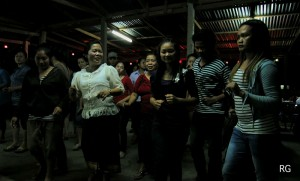 Lao-style Line Dancing