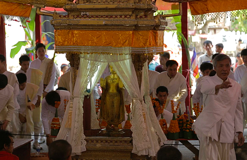 Pra Bang at Wat Mai, Luang Prabang, Laos