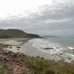 Looking north across Nina Bay