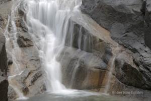 Mulligan Falls in the rain