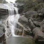 Mulligan Falls and the rock pool below