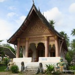 Wat Aham, Luang Prabang, Laos, the hiome of the local spirits, Pu Nyer and Nya Nyer