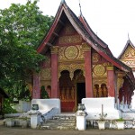 Wat Khilli, one of the smallest wats in Luang Prabang, Laos