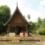 Wat Long Khourn is where the kings of Luang Prabang meditated before being crowned